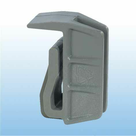Eckverbindungsklammer für Aluminiumauflagen