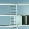 Drahtgitter-Rückwand und Seitenwand