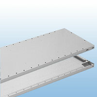 Zusatzfachböden S71 RAL 7035 lichtgrau