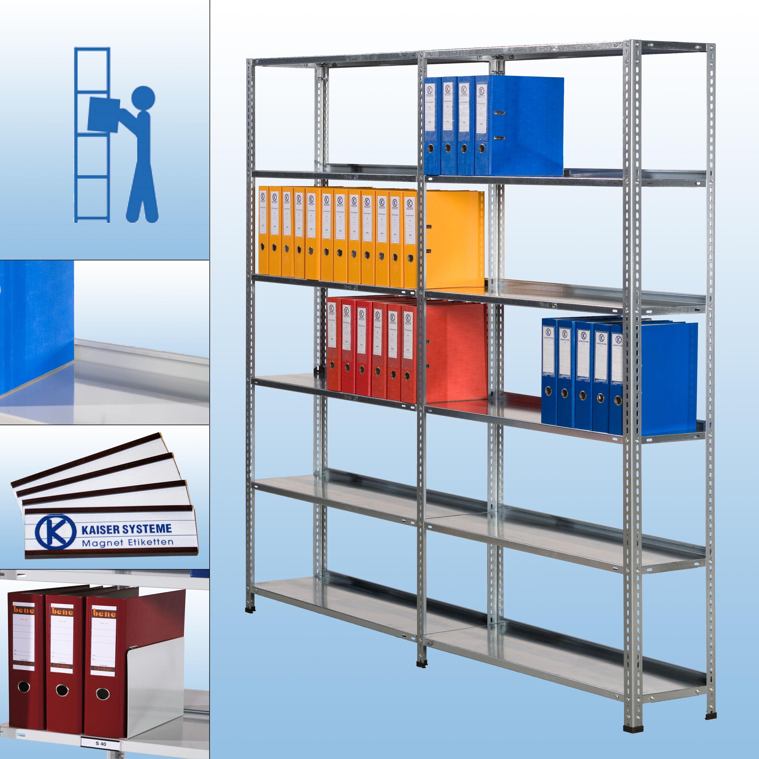 S30 Wand-/Schraubregal - zeitloses Design