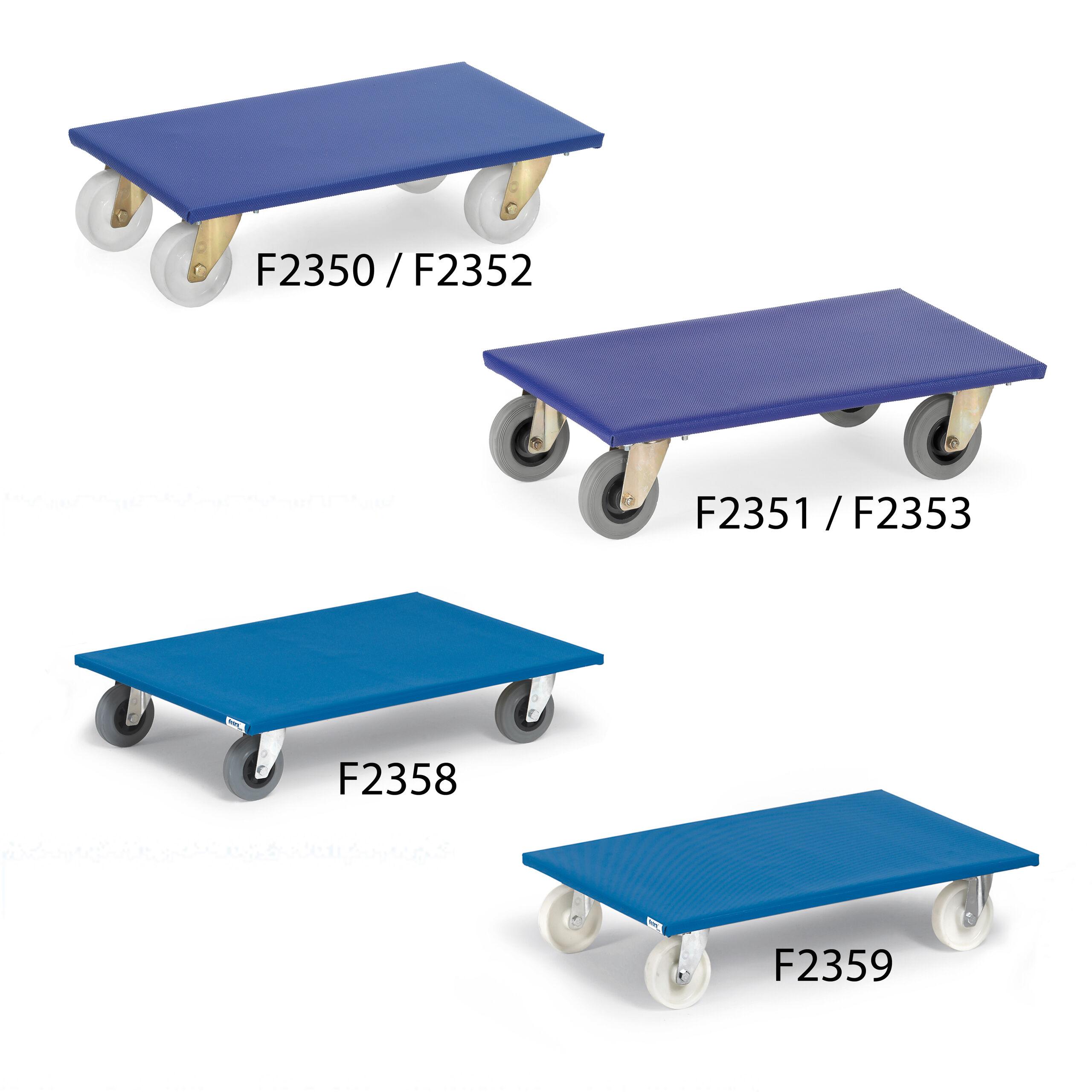 Möbelroller F2350 / F2352 / F2351 / F2353 / F2359 / F2358