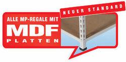 MP Fachbodenregal - inkl. 16 mm MDF-Platten